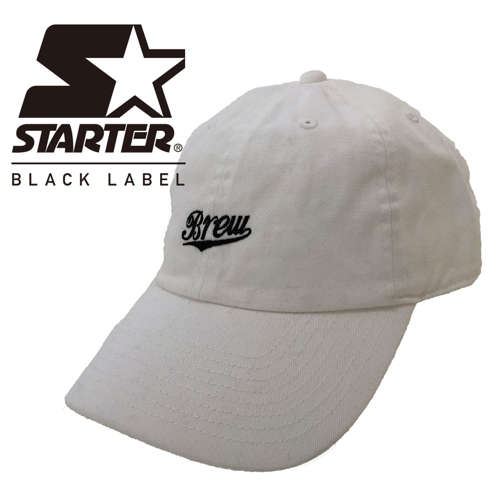 Team Cap BREW×STERTER white